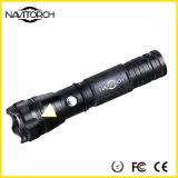 260lm 160m empfindliche nachladbare Taschenlampe der Aluminiumlegierung-LED (NK-167)