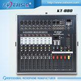 Teyun kt-880 850W de OpenluchtMacht die van Prestaties de Mixer van de Console mengen