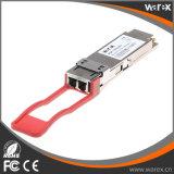 Cisco QSFP-40G-ER4のSMFのための互換性のある高速40G QSFPの実行中のトランシーバのモジュール1310nm 40km