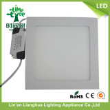 el panel Ultra-Delgado cuadrado de la luz del panel de 18W LED LED