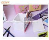Cadre en bois pratique Cx-PC02 de crayon lecteur de carton de conteneur de crayon lecteur de maison de cadre de crayon lecteur de bureau