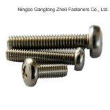 DIN7985 Edelstahl Cross Pan Head Screws für Industry