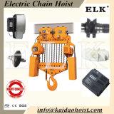 Chariot électrique aux élans 30ton pour la grue électrique d'élévateur