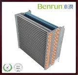 Verlegenheits-Folien-Aluminiumflosse-Kondensator-Wärmetauscher