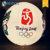 Раздувные воздушные шары СИД вися изготовленный на заказ раздувные украшения шариков рождества воздушного шара