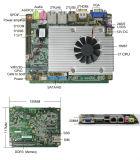 Placa madre del procesador 3.5inch TV de Qm/Hm67+Core I3/I5/I7