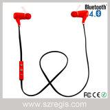 Auscultadores estereofónico do fone de ouvido dos auriculares de Bluetooth 4.0 dos macarronetes da música da em-Orelha mini