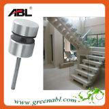 Pasamano de cristal del aislamiento de interior de las escaleras del acero inoxidable (CC148)