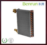 Fin di alluminio Heat Exchanger Coil con Copper Pipe