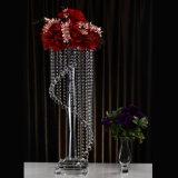 Highend кристаллический держатель для свечи для венчания декоративного