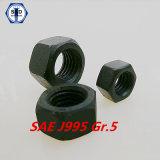 Noix Hex de la pente 5 de SAE J995
