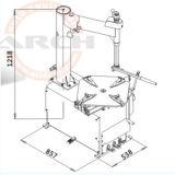 Cer-Reifen-Wechsler/Gummireifen-Wechsler (AAE-C200BI)