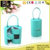 Varias bolsas y bolsos de la caja de la joyería y del cosmético