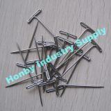 Pinos afiados da peruca T do metal do ponto da venda por atacado 38mm