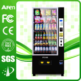 LCD Display Vertical Stand Cold Drink Beverage & Snack Vending Machine