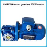 NMRV Worm Gear Speed ​​Reducer met Rem Motor