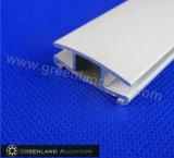 Piste inférieure en aluminium enduite de poudre