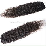 Stock에서 6A Unprocessed Virgin 브라질 Bun Hairpieces 24 ""