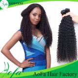 extensión sin procesar del pelo humano del pelo de la Virgen de Stright del grado 7A