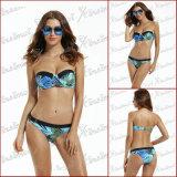 Vestito di bagno del bikini della tintura del legame del Bandeau delle donne