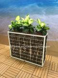 Напольный Flowerpot плантатора сада ротанга