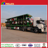 40ft Transport Container Cimc Flatbed Container Trailer