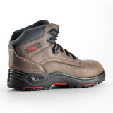 Composite Toe를 가진 Men를 위한 금속 Free Leather Safety Shoes
