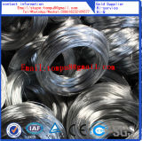 Gegalvaniseerde Draad/de Draad van het Staal/Binddraad (BWG4-BWG36)