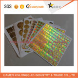 Papier Anti-Fake Adhesive Label Printing Anti-Falsification Hologram Sticker