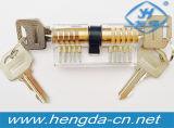 Fechamentos cortantes transparentes da lâmina da prática Yh9249 para cadeado para fechamentos do Ab para fechamentos transversais