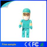 Médico de enfermagem promocional e enfermeira Memória de disco flash USB 4GB