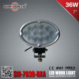 7 CREE LED Car Driving Work Light (SM-7036-RXA) de la pulgada 36W
