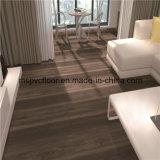 Série en bois de grain de fabricant enclenchant le plancher de PVC