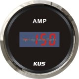 "2 "" 52mm Digital Ammeter Ampere Gauge +/-150A con Backlight"