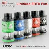Ijoy Rdta illimitato più il serbatoio di capienza dell'atomizzatore 6.3ml