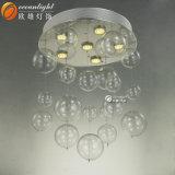 Lampadario a bracci di vetro liscio elettrolitico Om033 della bolla della sfera di vetro del bicromato di potassio