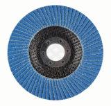 アルミニウムOxdideまたは炭化ケイ素またはジルコニアの研摩の折り返しディスク