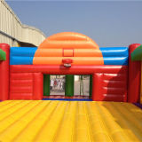 Saleのための熱いInflatable Football/Basketball Playground