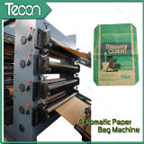 Bolsa de papel de Kraft de la eficacia alta que hace la máquina