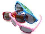 Unisexkind-Art-Plastikentwerfer-Form-Sonnenbrillen