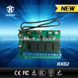 Sistema di telecomando elettrico di rf con il trasmettitore e la ricevente
