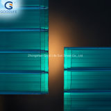 Frosted Orange/Transparent/Opal White/Blue Polycarbonate Panel for Indoor Decoration