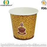 Tazza di carta calda a gettare di formato 4oz di Samll di promozione