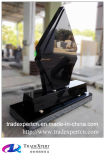 Надгробная плита гранита Shanxi черным высеканная диамантом чистосердечная