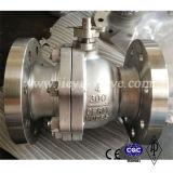 CF8 150 libras brida Válvula de bola de 1 pulgada
