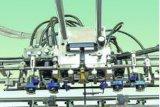 고속 가득 차있는 자동적인 지류 공급 추진식 플루트 박판으로 만드는 기계