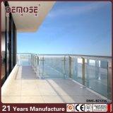 유행 디자인 고급 주택 유리제 발코니 난간 (DMS-B21216)