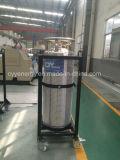 Cilindro criogênico industrial do vaso Dewar do Lar Lco2 de Lin do Lox da alta qualidade