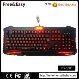 Backlit Tastatur der gute Qualitätsneues Produkt-Änderungs-drei Farbe
