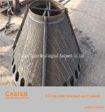 Snelle Levering 6+4 de Dubbele Plaat van de Slijtage van het Metaal Opduikende voor het Voeden van Helling